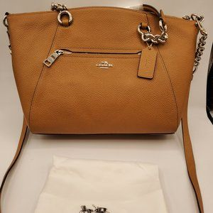 COACH Satchel SADDLE CHAIN PRAIRIE